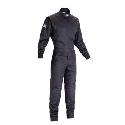 Комбинезон механика SUMMER, черный, р-р 52 OMP Racing NB157907152