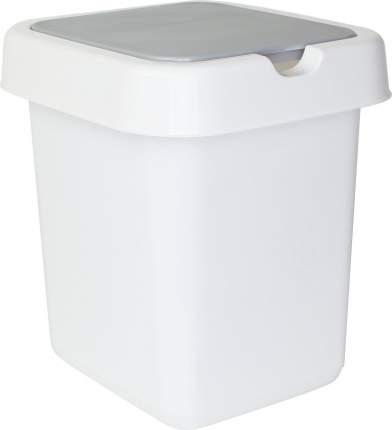 "Контейнер для мусора Svip ""Квадра"" 25 л 295х335х420 мм белый"