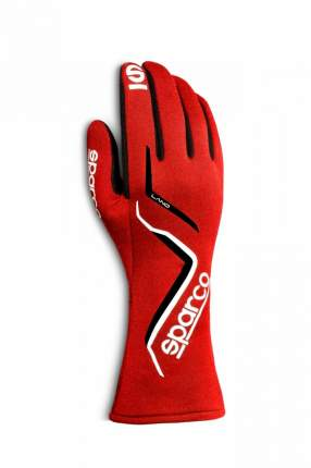 Перчатки для автоспорта LAND, FIA, красные, р-р 9 Sparco 00135709RS