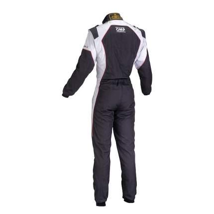 Комбинезон (CIK) KS-3, черный/белый, р-р 150 OMP Racing KK01723C076150