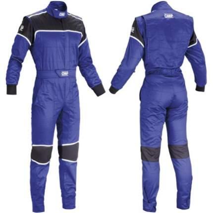 Комбинезон механика BLAST, синий/черный, р-р 56 OMP Racing NB157804156