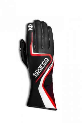Перчатки для картинга RECORD, чёрный/красный, р-р 9 Sparco 00255509NRRS