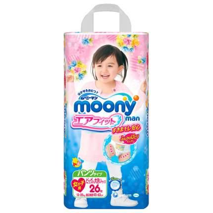 Подгузники-трусики Moonyman Д/Девочек Xxl (13-25 Кг) 26 шт.