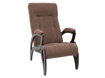 Кресло Мебель Импэкс Кресло для отдыха Комфорт Модель 51 Венге, Verona Brown, велюр