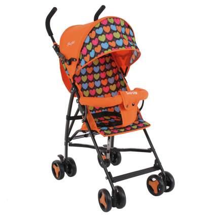 Коляска-трость Bambola bi bi love (8 колес бампер сумка) оранжевый