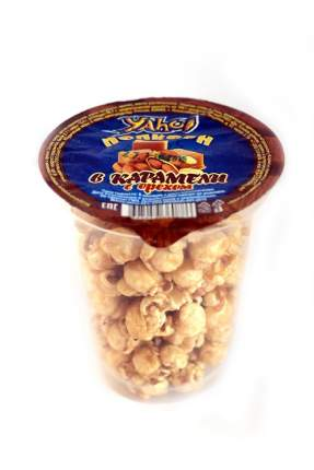 Попкорн Brave YAHO! в карамели с орехом 50 г