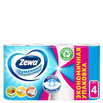 Бумажные полотенца Zewa декор 4 рулона