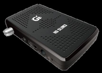 Спутниковый ресивер GI HD Slim Black
