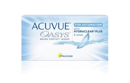 Контактные линзы Acuvue Oasys for Astigmatism with Hydraclear Plus 6 линз -4,75/-0,75/90