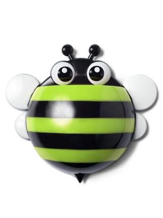 """Держатель для зубных щеток и паст, RUGES, """"Пчёлка"""", зеленая"""