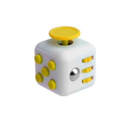 Игрушка антистресс Fidget Cube кубик, серо-желтый 12, 11020