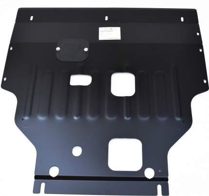 alfeco Защита картера двигателя и кпп для ford transit(Форд Транзит) 2014-,v-2,2d 125 л.с.