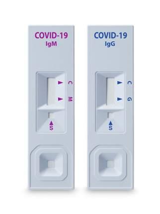 Экспресс тест на антитела STANDARD Q COVID-19 IGM/IGG DUO (в упаковке на 4 человека)