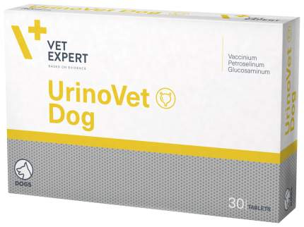 VetExpert Уропротектор UrinoVet Dog (УриноВет Дог), 30 таб по 400 мг