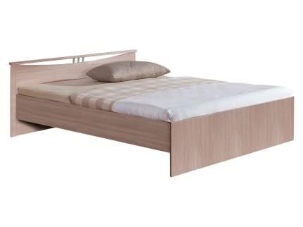 Двуспальная кровать Боровичи Кровать Мелисса Шимо светлый, 1600 Х 2000 мм