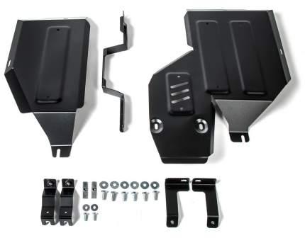 Защита топливного бака, редуктора АвтоБроня Mitsubishi ASX/Eclipse Cross 4WD, 111.04051.1