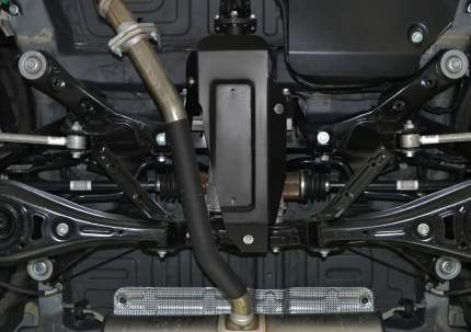 Защита редуктора АвтоБроня для Geely Atlas 2018-н.в., штампованная, st 1.8mm, 111.01916.1
