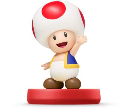 Фигурка amiibo Тоад (Коллекция Super Mario)