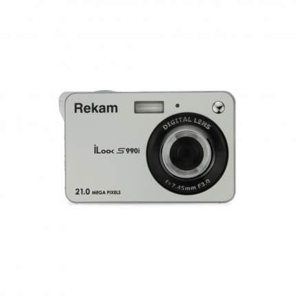 Фотоаппарат цифровой компактный Rekam iLook S990i Silver Metallic