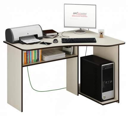 Компьютерный стол MFMaster Триан-1 Триан-1 Дуб молочный, Правый, дуб молочный