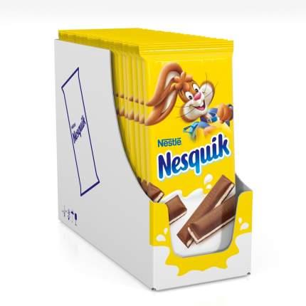 Шоколад молочный Nesquik с молочной начинкой 100 г