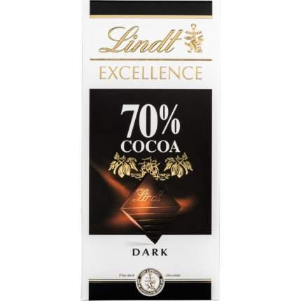 Шоколад темный Lindt excellence 70% 100 г