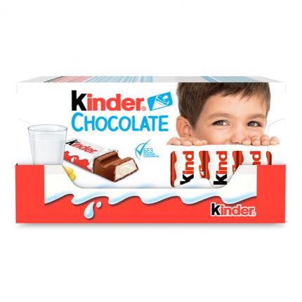 Шоколад Молочный Kinder Chocolate 100 г