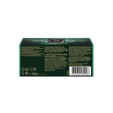 Шоколад темный Nestle after eight с начинкой со вкусом мяты 200 г