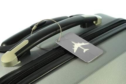 Бирка багажная Verona Plane, белый