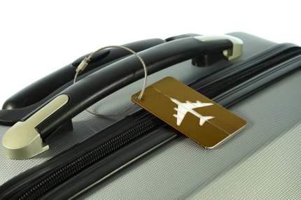 Бирка багажная Verona Plane, коричневый