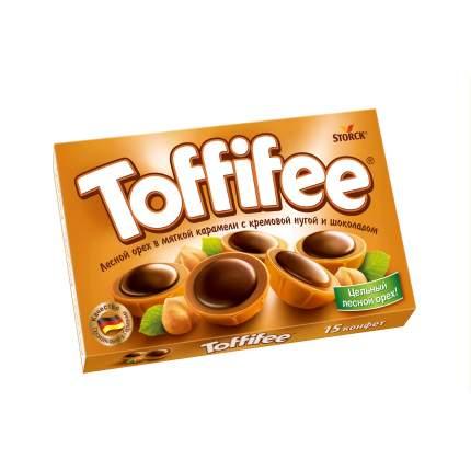 Конфеты toffifee Storck лесной орех в мягкой карамели с кремовой нугой и шоколадом 125 г