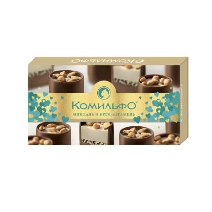 Набор конфет шоколадные Комильфо миндаль и крем-карамель 116 г