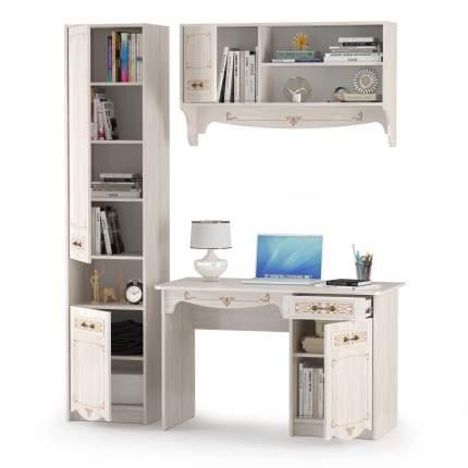 Комплект мебели Mobi Флоренция № 1, ясень анкор светлый, 165х60х210,3 см