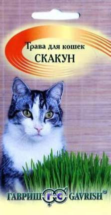 "Семена. Трава для кошек ""Скакун"" (10 пакетов по 10 г) (количество товаров в комплекте: 10)"