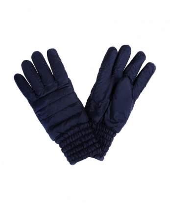 Перчатки для девочек Gulliver, цв. синий, р-р 16