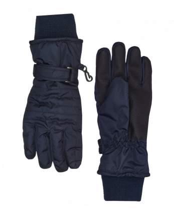 Перчатки для мальчиков Gulliver, цв. синий, р-р 16