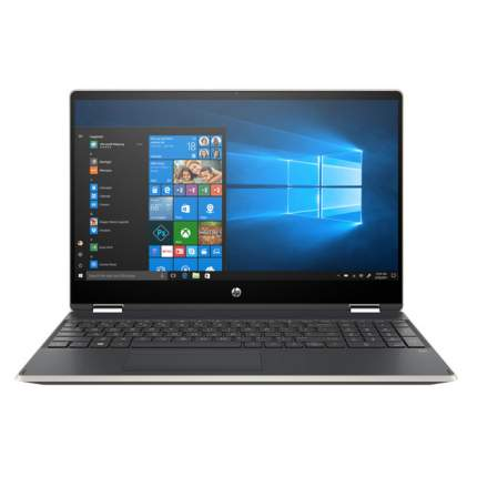 Ноутбук-трансформер HP Pavilion x360 15-dq0001ur (6PS43EA) Gold