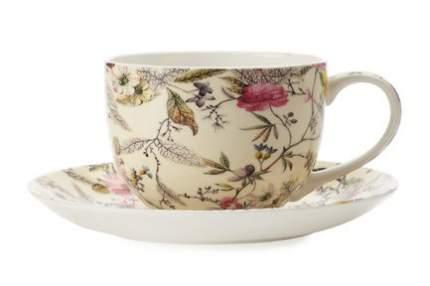 Maxwell & Williams Чашка Летние цветы (0.25 л) с блюдцем MW637-WK03250