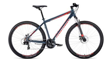 "Велосипед Forward Apache 29 2.0 Disc 2020 17"" синий глянцевый"