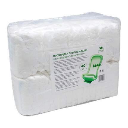 Прокладки впитывающие послеродовые/для недержания Пелигрин Super 40 шт.