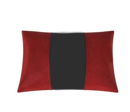 АвтоЛидер Автомобильная подушка (поясничный подпор, держатель-резинка под подголовник). Жа