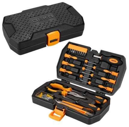 Набор инструментов для дома DEKO DKMT61 (61 предмет) в чемодане 065-0303
