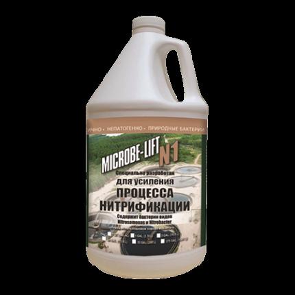 Биопрепарат для очистки воды Ecological Laboratories Microbe-Lift/N1 3,78 л