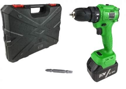 Дрель аккумуляторная бесщеточная Zitrek Greenpower 20 Pro (20В, 3Ач, кейс, бита) 063-4060