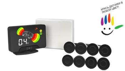 Комплект парктроников AAALine LCD-18 Black