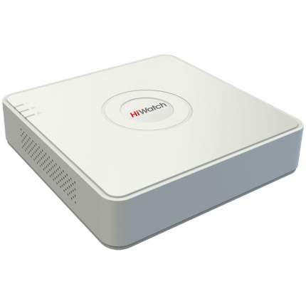 Видеорегистратор Hiwatch DS-N204 (B), 4кн, 4Мп, 40Мб/с, 1 SATA для HDD до 6Тб