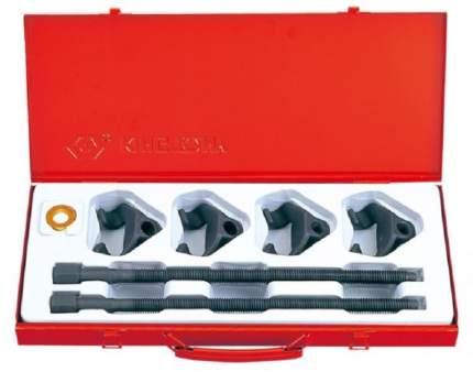 KING TONY Набор для стяжки пружин амортизатора, 85-370 мм, кованые крюки, 6 предм. 9BF11