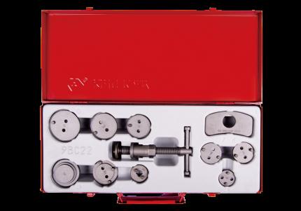 KING TONY Набор для утапливания поршней суппортов дисковых тормозов, 11 предметов 9BC22