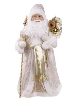 "Новогодняя фигурка ""Дед Мороз в золотом костюме"", 28,5x19,5x61 см"