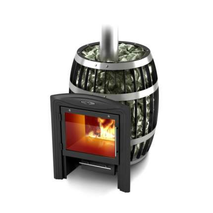 Дровяная печь для бани TMF Саяны Carbon Витра